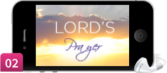 Lord's Prayer on iPhone