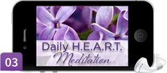Mary A. Hall's Daily Heart Meditation on iPhone