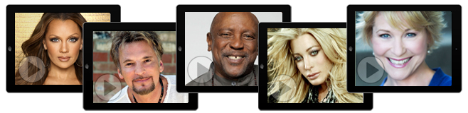 Inspirational Videos by Vanessa Williams, Kenny Loggins, Lou Gossett, Jr., Taylor Dayne and Dee Wallace