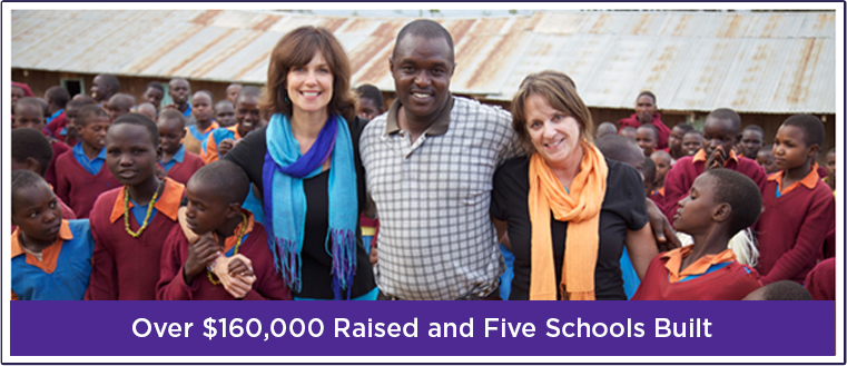 Over $160,000 Raised and Five Schools Built
