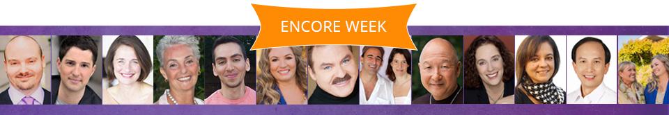 Encore Week Speakers