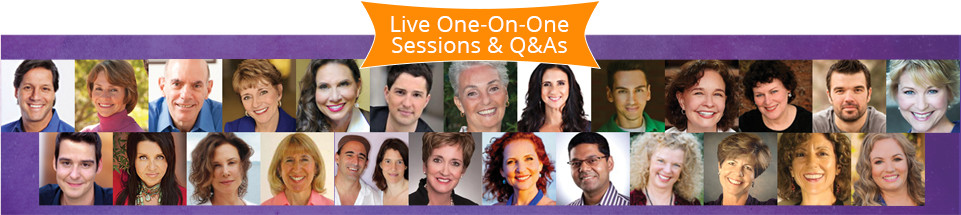 Live One-on-One Sessions and Q&As